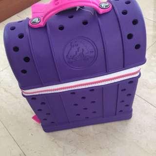 Crocs zip top back pack