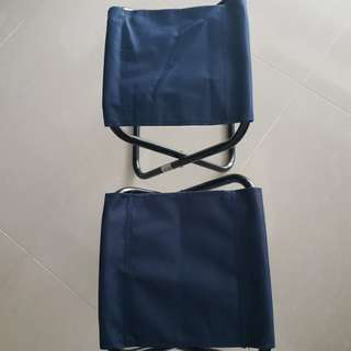 Small foldable stool (2nos.)