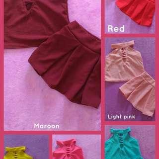 Terno Skirt plain