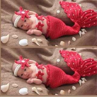 Little Mermaid Infant Shooting Costume