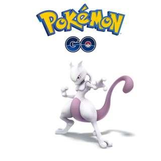 Mewtwo EX PASS + CATCH ( 拿卷代捉)Pokemon Go