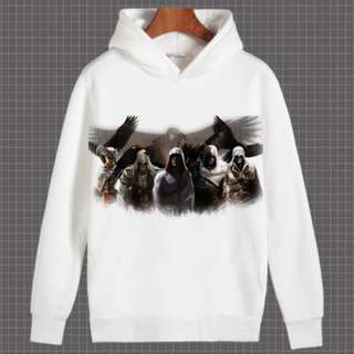 Assassins Creed Series Hoodie Pullover Sweater Shirt