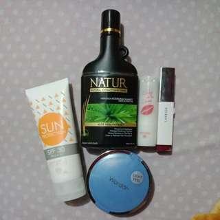 Laneige Lipstick Natur Hairtonic Wardah