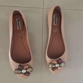 Dune flats shoes