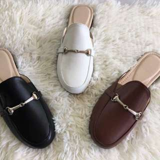 Buckle Mules