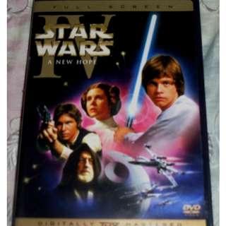 Star Wars DVDs (Fullscreen) Region 1