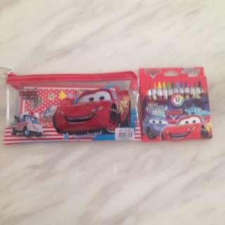 McQueen cars theme goody bag