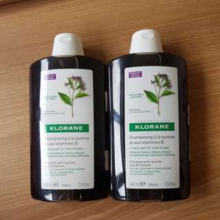 Klorane Shampoo - revitalizing and strengthening