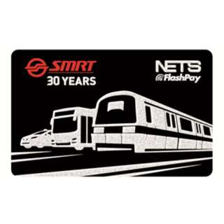 SMRT 30TH ANNIVERSARY Nets flashpay card (used)