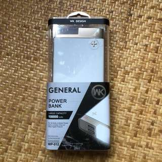 WK DESIGN POWER BANK 10000mAh
