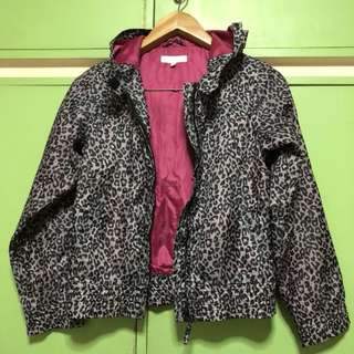Leopard pink jacket