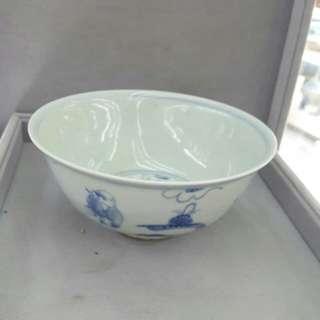 青花風纹碗