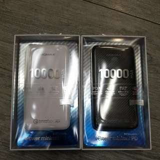 Momax iPower minimal PD QC3.0  10000mAh Power Bank 流動充