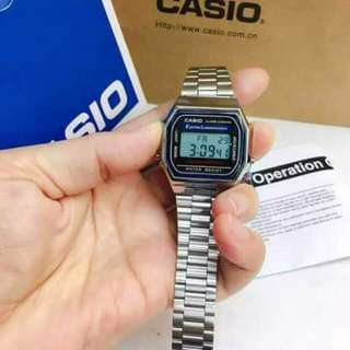 Casio #640 replica  • waterproof  •3 years battery  • Japan machine  •steel •complete package