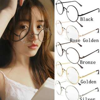 Harry Potter Fashion Round Glasses (Black)