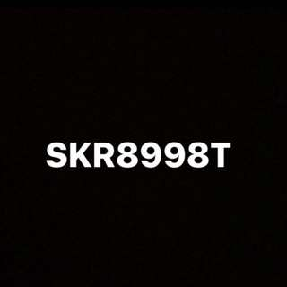 SKR8998T car number plate for sale