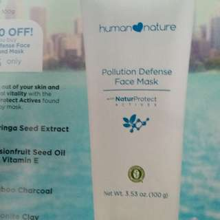 Pollution Defense Face Mask