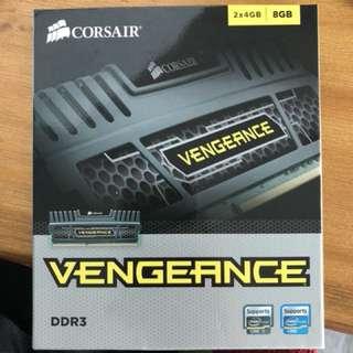 Corsair Vengence DDR3 2x4gb