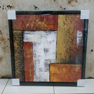 Canvas oil Painting 45x45cm with frame