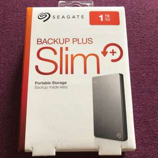 BNIB-Seagate Backup Plus Slim 1TB