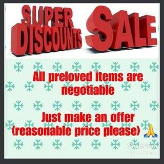 Mega Sale!!! Promo!!! Bundle!!