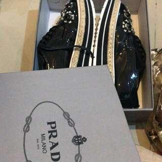Prada shoes freong