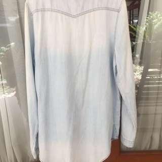 baby blue shirt | women