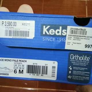 REPRICED!!!! KEDS ACE MONO PALE PEACH
