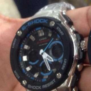 Casio watch silver metal
