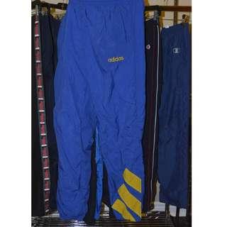 Vintage Adidas Windbreaker Track Pants