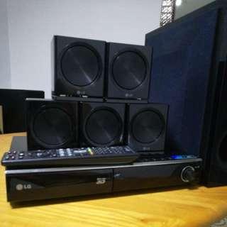 Lg 3D Blueray 5.1 system HB806