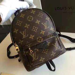 LV Monogram Palm Spring Mini Backpack