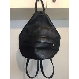 Leather 2way Backpack