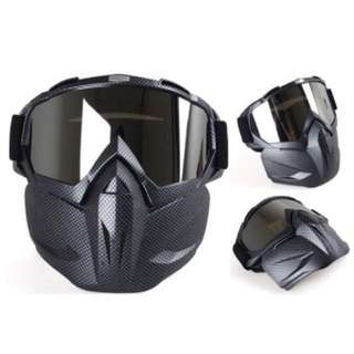 goggle with mask LOUIS WILL