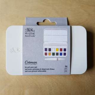 Winsor and Newton Cotman Watercolor × 12