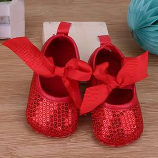 Baby Girl Ribbon Shoes