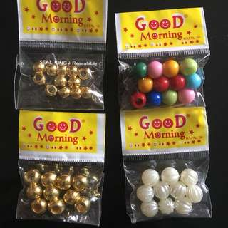 Beads plastic