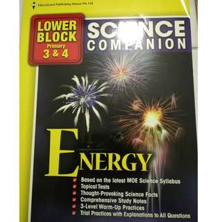 Lower Block Primary 3&4 Science companion (Theme:Energy)