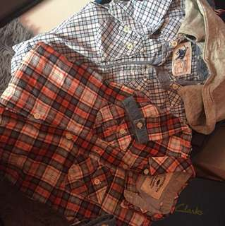 Preloved Gingersnaps Checkers Shirt