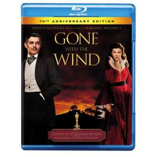 Gone with the wind bluray