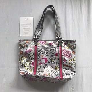 Coach printed handbag