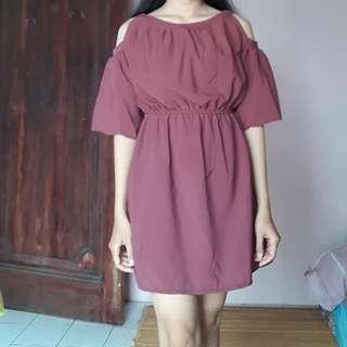 Dress redplum