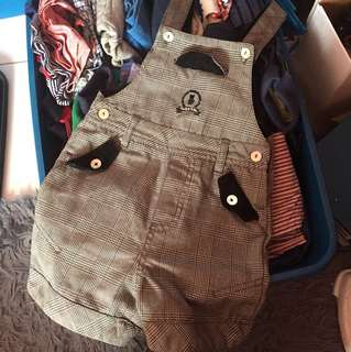 Preloved Trudy & Teddy Overall