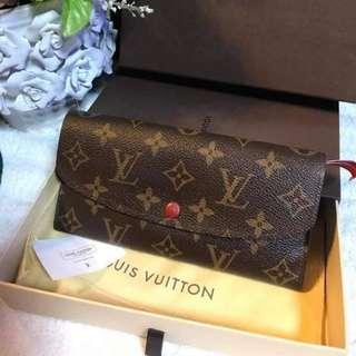 Authentic Louis Vuitton Emilie Wallet
