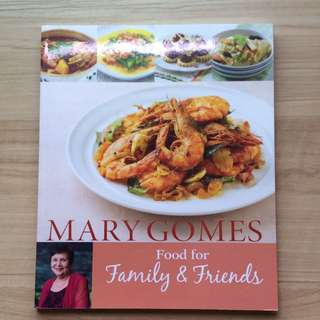 BN Recipe book Food for family and friends Mary Gomes