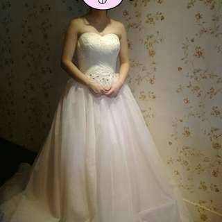 🚚 新娘白紗禮服免運