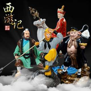 Journey to the West folklore Figures Set