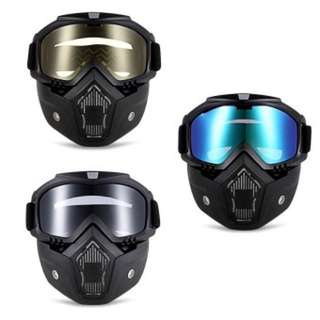 goggle with mask for motorcycle ROBESBON