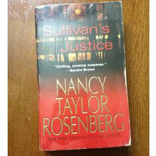 Sullivan's Justice by Nancy Taylor Rosenberg