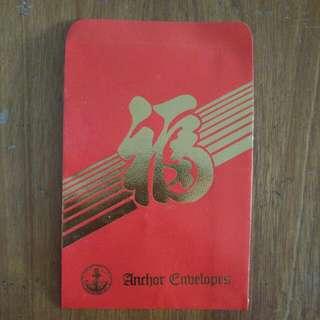 Anchor Envelopes red packet ang bao hong pao